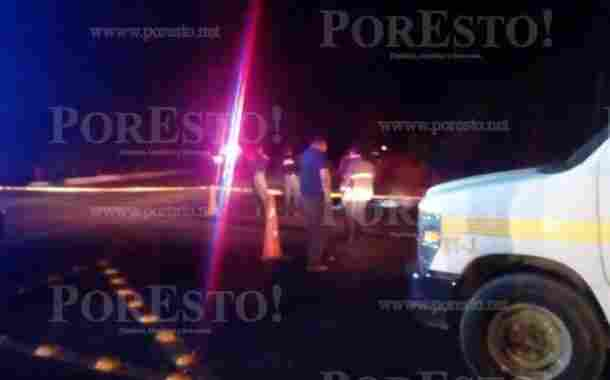 Motociclista muere en accidente carretero