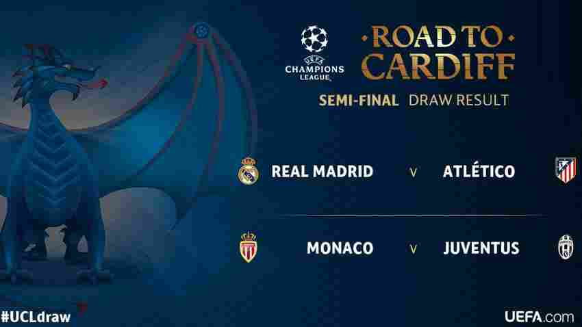 Real Madrid vs. Atlético, cara a cara en semifinales de Champions League