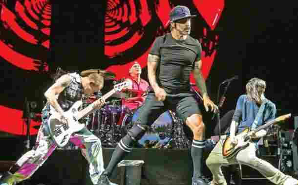 Amor para ustedes: Red Hot Chili Peppers