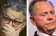 Roy Moore y Al Franken, rostros del escándalo sexual en Washington