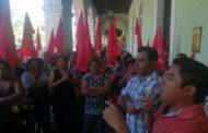 Campesinos protestan por no recibir apoyo