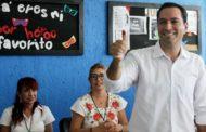 PREP da ventaja a Mauricio Vila en Yucatán